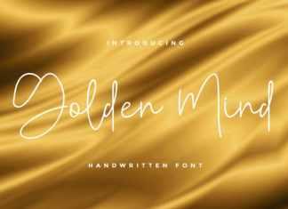 Golden Mind Script Font