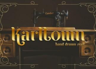 Karltown Display Font