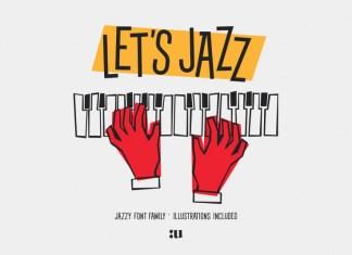 Let's Jazz Sans Serif Font