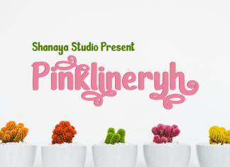 Pinklineryh Display Font