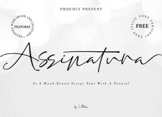 Assinatura Script Font