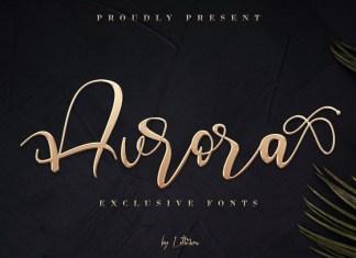 Aurora Calligraphy Font