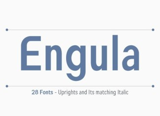 Engula Sans Font Family