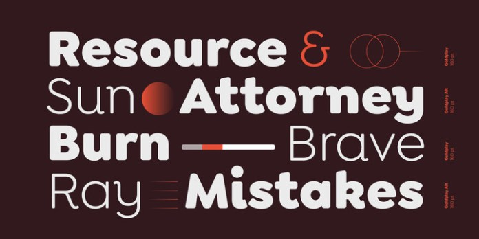 Goldplay Font Family