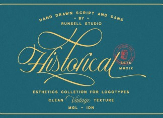Historical - Handdrawn Font Duo