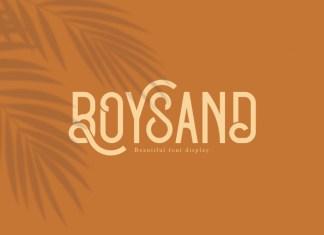 Boysand Display Font