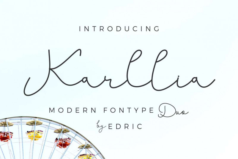 Karllia Script Font