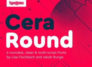 Cera Round Pro Font Family