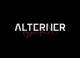 Alterner Sans Serif Font