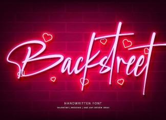 Backstreet Script Font