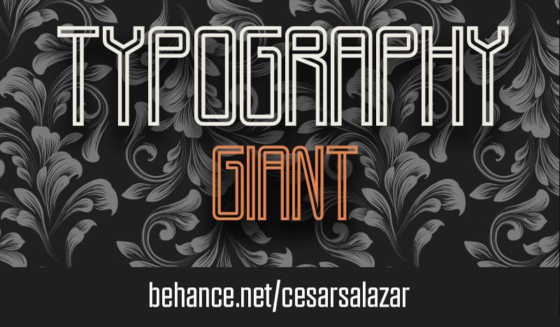 Giant Typeface