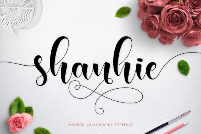 Shanhie Script Font