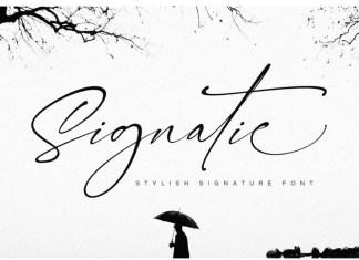 Signatie Signature Font
