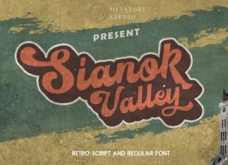 Sianok Valley Retro Font