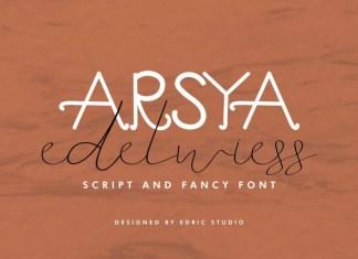 Arsya Edelwiess Font Duo