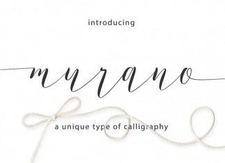 Murano Script Font