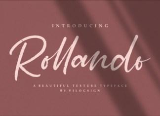 Rollando Script Font