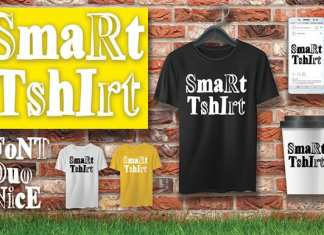SmaRt TshIrt Display Font
