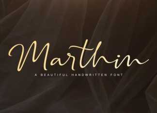 Marthin - Beautiful Handwritten Font