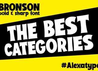 Bronson - Playful Font