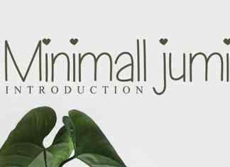 Minimall Jumi Font