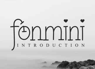 Fonmini Serif Font
