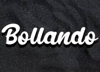 Bollando Bold Script Font