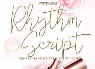 Rhythm Handwritten Font