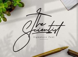 The Scientist Handwritten Font