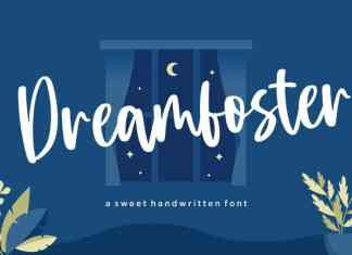 Dreamfoster Sweet Handwritten Font