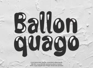 Ballon Quago Display Font