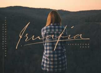 Irnafia Handwritten Font