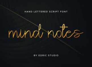 Mind Notes Handwritten Font