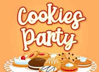 Cookies Party Display Font