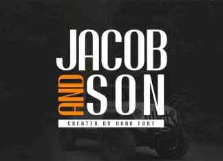 Jacob And Son Sans Serif Font