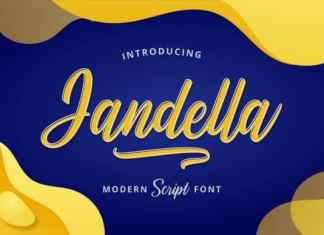 Jandella Script Font
