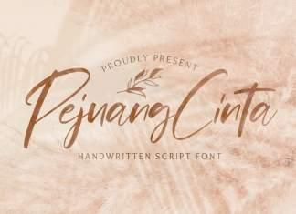 Pejuang Cinta Script Font