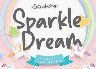 Sparkle Dream Lovely Handdrawn Font