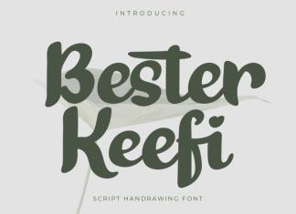 Bester Keefi Script Font