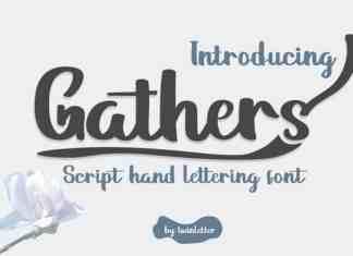 Gathers Script Font