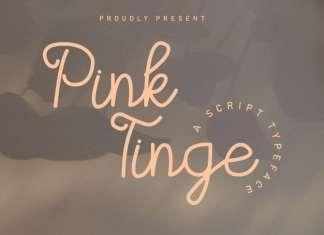 Pink Tinge Script Font