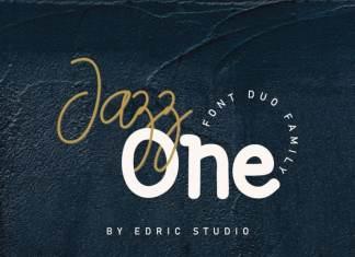 Jazz one Script Font Duo