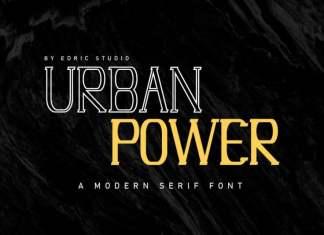 Urban Power Modern Serif Font
