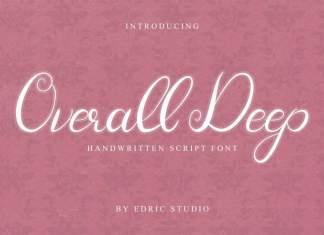 Overall Deep Handwritten Font