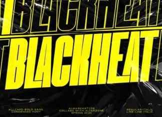Blackheat Sans Serif Font