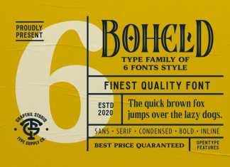 Boheld Serif Font