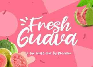Fresh Guava Script Font
