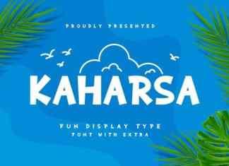 Kaharsa Display Font