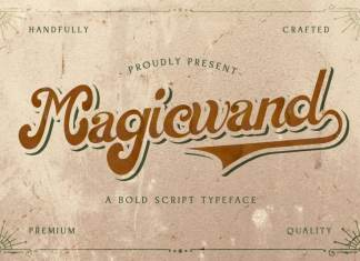 Magic Wand Script Font