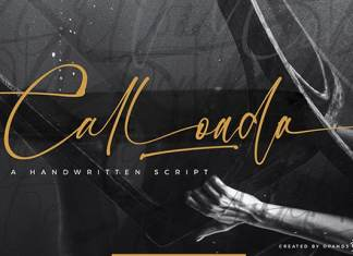 Calloada Script Font